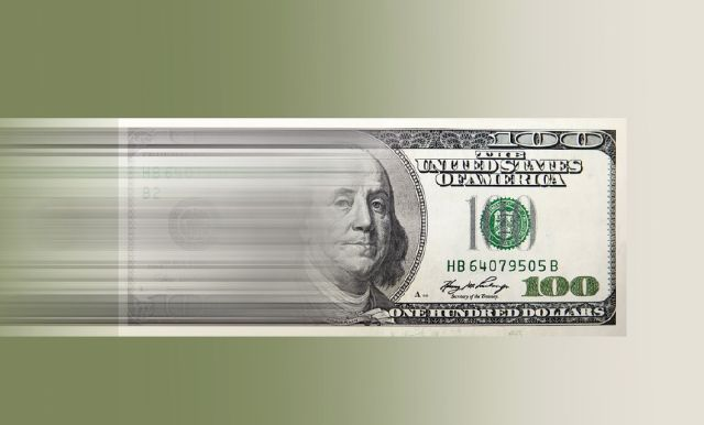 Speeding $100 bill